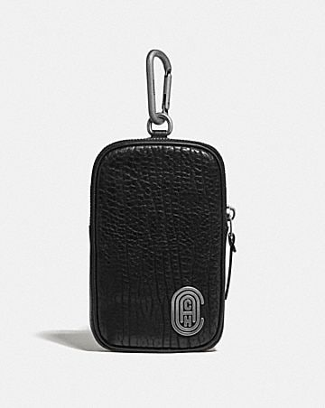 HYBRID POUCH 10 WITH COACH PATCH