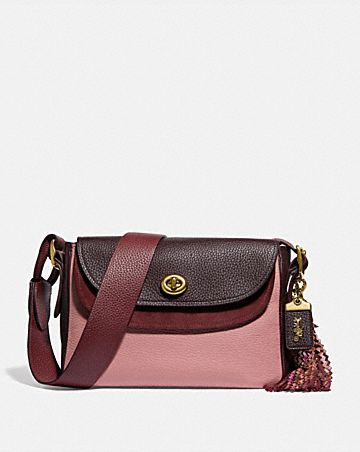 COACH X TABITHA SIMMONS CROSSBODY IN COLORBLOCK