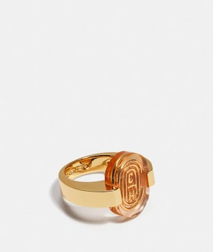RETRO SIGNATURE RING