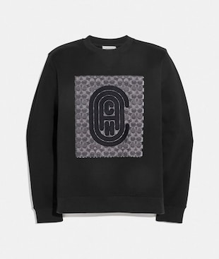 RETRO SIGNATURE SWEATSHIRT