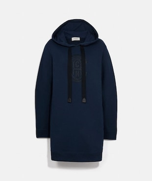 COACH SWEATSHIRT DRESS