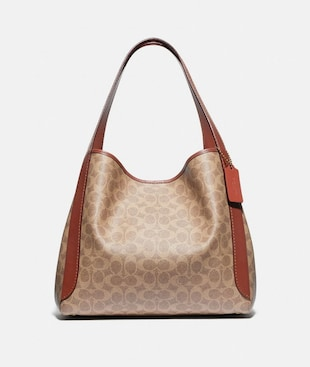 BORSA HOBO HADLEY IN TELA SIGNATURE
