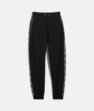 HORSE AND CARRIAGE TAPE SWEATPANTS