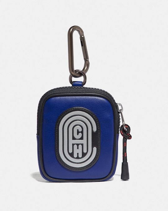 HYBRID POUCH 8 IN COLORBLOCK WITH COACH PATCH