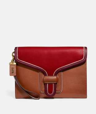COURIER WRISTLET IN COLORBLOCK