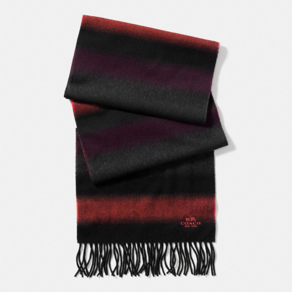 BLENDED STRIPE SCARF