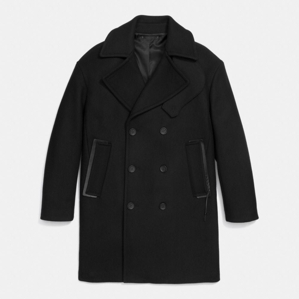 RIP AND REPAIR WOOL OFFICER COAT