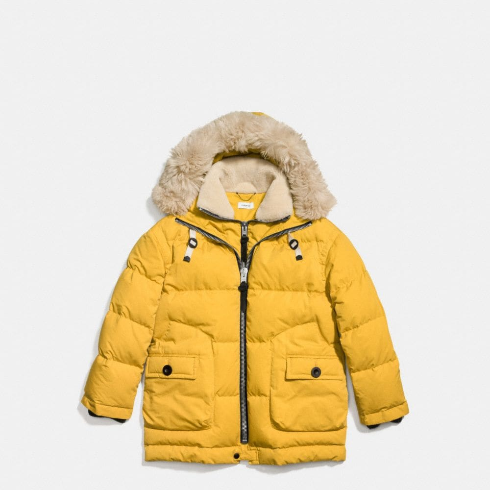 TOY SOLDIER DOWN PARKA