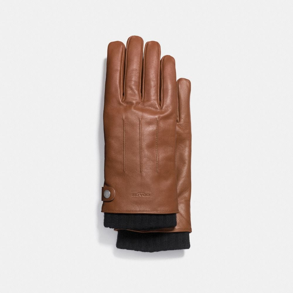 3-IN-1 GLOVE IN LEATHER