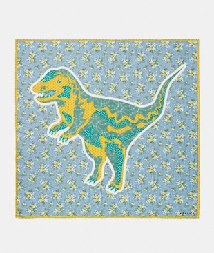 REXY FLOWER PATCHWORK OVERSIZED SQUARE