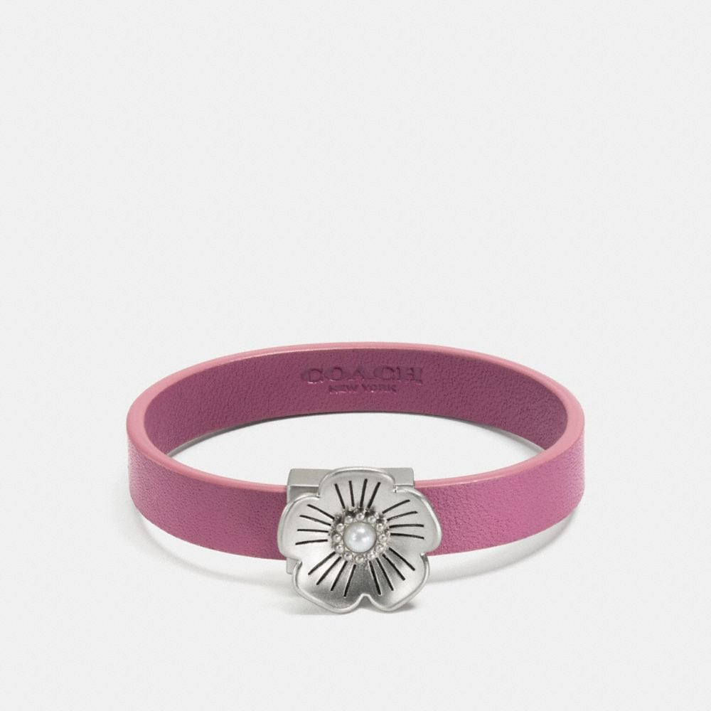WILLOW FLORAL LEATHER BRACELET
