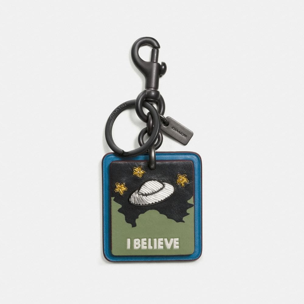 I BELIEVE BAG CHARM