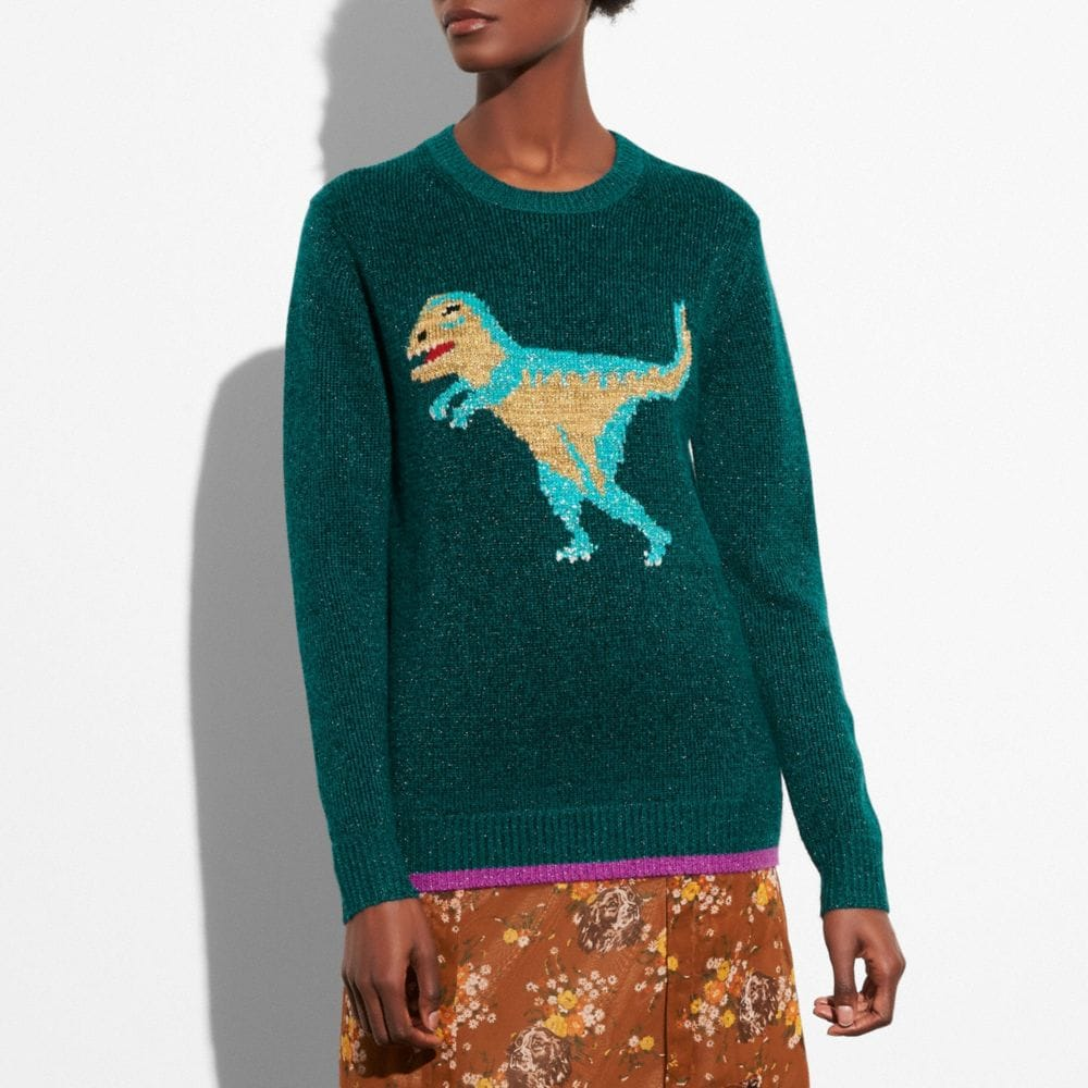 SPARKLY REXY SWEATER