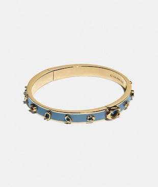 PEGGED SIGNATURE BANGLE