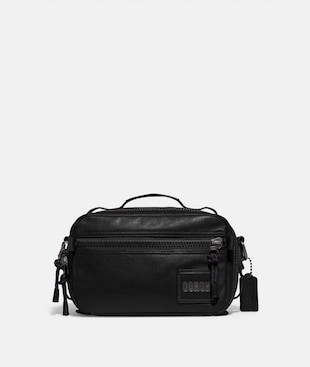 PACER TOP HANDLE CROSSBODY WITH COACH PATCH