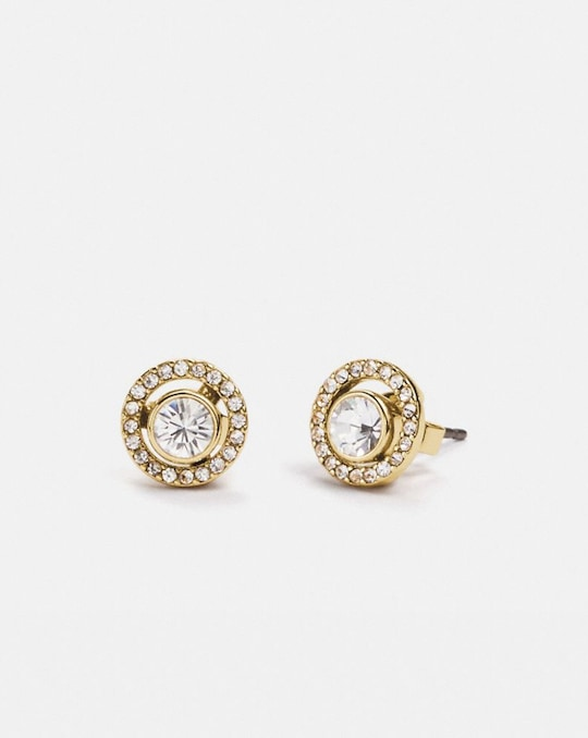 HALO PAVE 2-IN-1 STUD EARRINGS