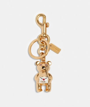 3D BEAR LOVE LETTER BAG CHARM