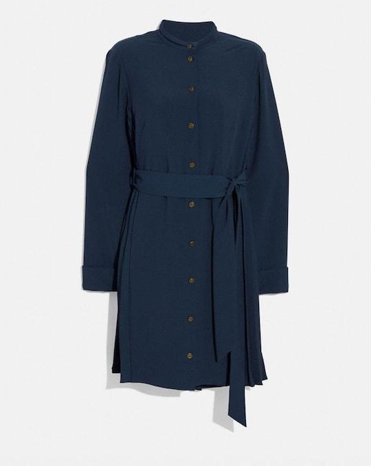 HERITAGE PLEAT SHIRT DRESS