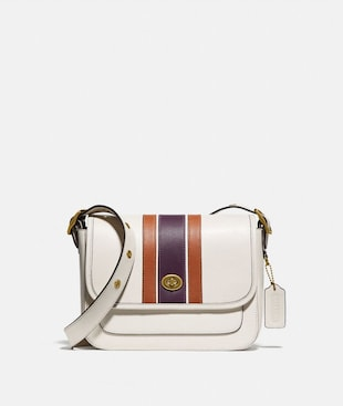 RAMBLER CROSSBODY WITH VARSITY STRIPE