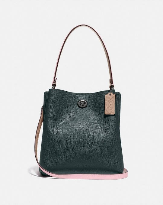 CHARLIE BUCKET BAG 21 IN COLORBLOCK