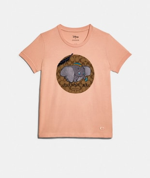 DISNEY X COACH DUMBO SIGNATURE T-SHIRT