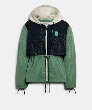 SIGNATURE SPORTY JACKET