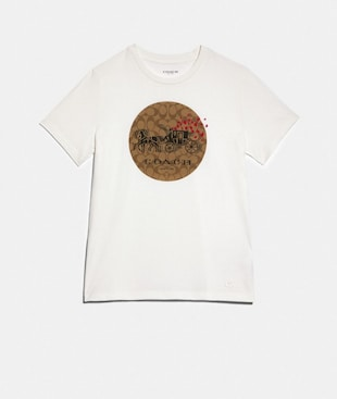HORSE AND CARRIAGE HEART T-SHIRT