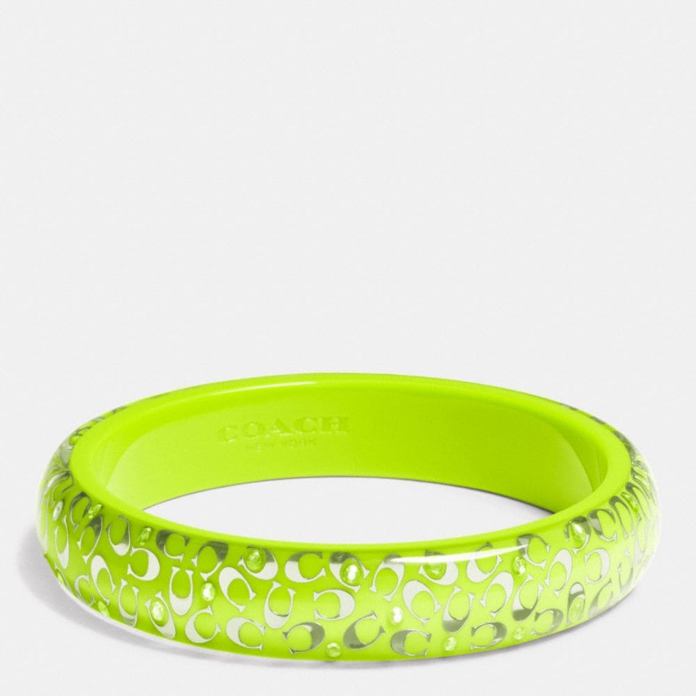 C.O.A.C.H. SLIM RESIN BANGLE