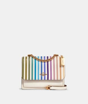 KLARE CROSSBODY WITH OMBRE QUILTING