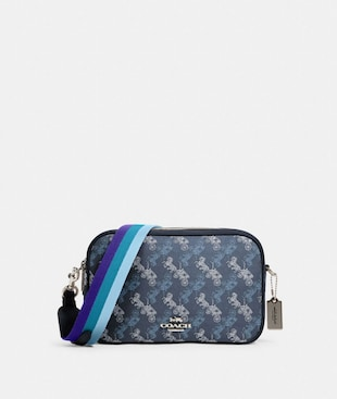 JES CROSSBODY WITH HORSE AND CARRIAGE PRINT