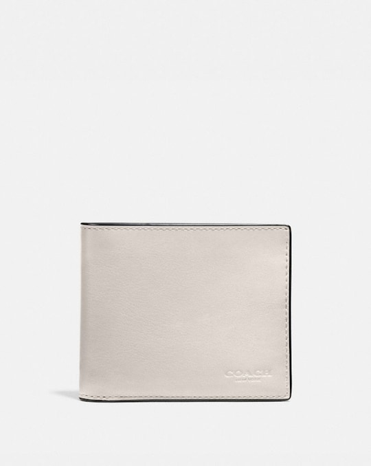 3-IN-1 WALLET WITH SIGNATURE CANVAS INTERIOR