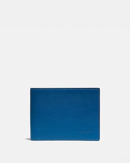 SLIM BILLFOLD WALLET WITH SIGNATURE CANVAS INTERIOR