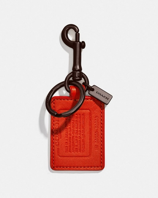 STORYPATCH KEY FOB IN SIGNATURE CANVAS