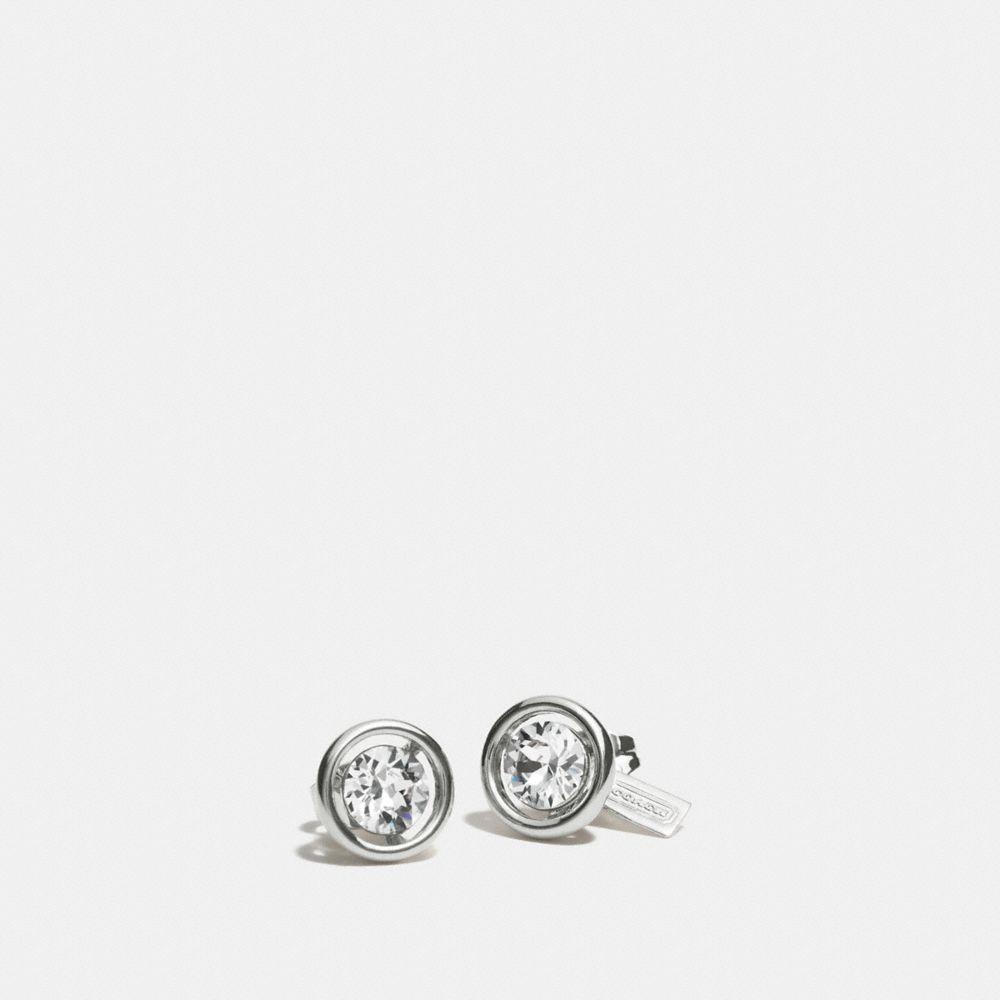 Halo Stud Earrings