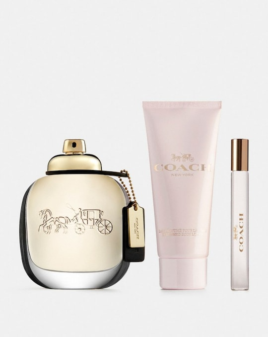 COACH NEW YORK EAU DE PARFUM 3 PIECE GIFT SET
