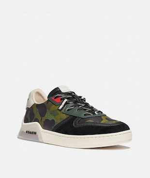 CITYSOLE COURT SNEAKER WITH WILD BEAST PRINT