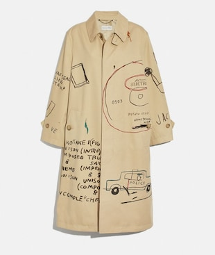 CAPPOTTO COACH X JEAN-MICHEL BASQUIAT
