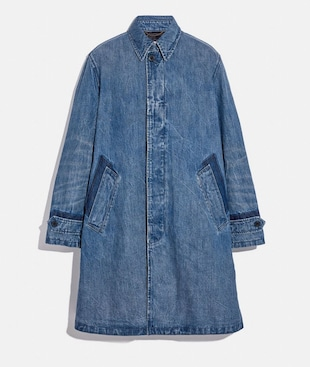CAPPOTTO IN DENIM
