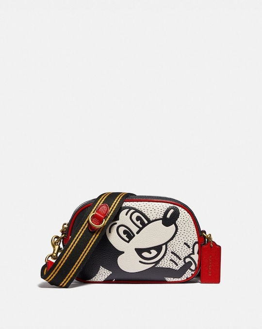 DISNEY MICKEY MOUSE X KEITH HARING BADGE KAMERA-UMHÄNGETASCHE