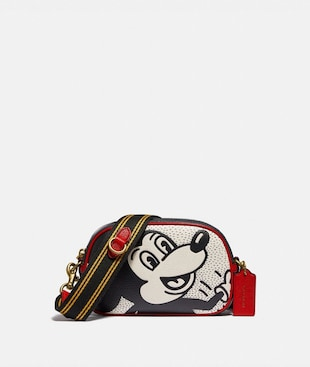 DISNEY MICKEY MOUSE X KEITH HARING BADGE CAMERA CROSSBODY