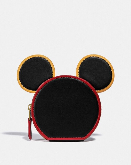 DISNEY MICKEY MOUSE X KEITH HARING COIN CASE