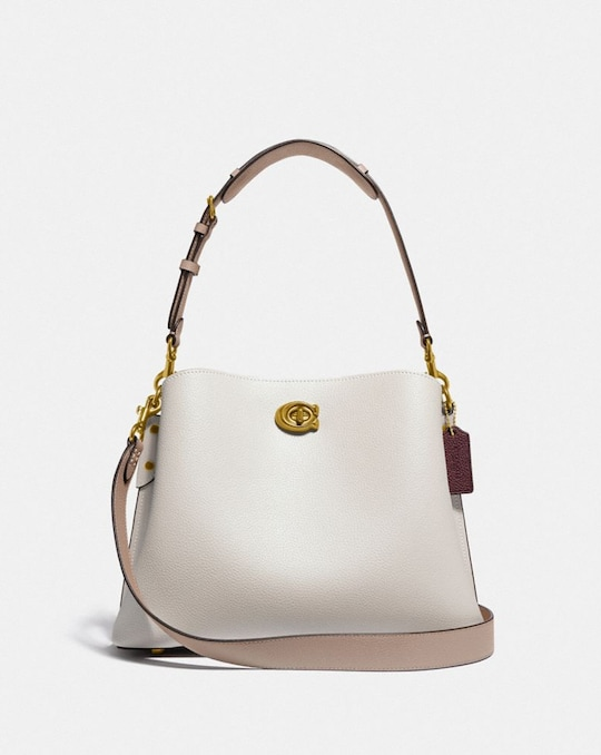 WILLOW SHOULDER BAG IN COLORBLOCK