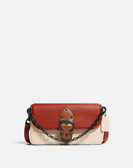 BEAT CROSSBODY CLUTCH IN COLORBLOCK