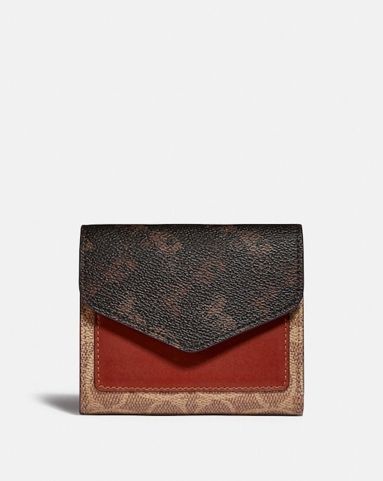 WYN SMALL WALLET WITH HORSE AND CARRIAGE PRINT