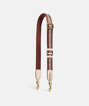 STRAP WITH CHAIN STRIPE
