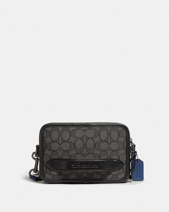 CHARTER CROSSBODY IN SIGNATURE JACQUARD