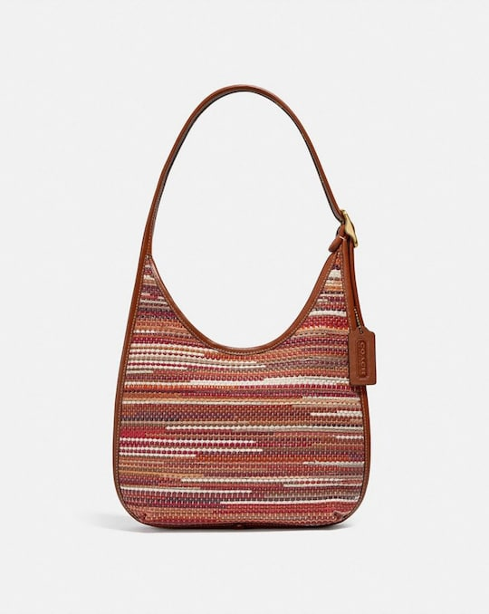 ERGO SCHULTERTASCHE IN UPWOVEN-LEATHER
