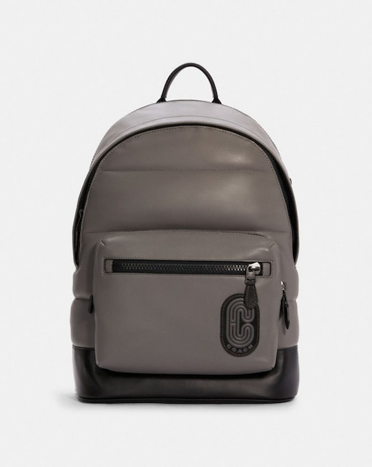 WEST BACKPACK WITH QUILTING