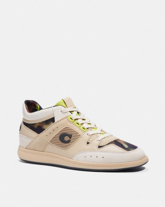 CITYSOLE MID TOP SNEAKER MIT CAMOUFLAGE-PRINT