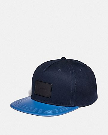 COLORBLOCK FLAT BRIM HAT